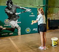 Rotterdam, Netherlands, November 17, 2019, RDM werf, Onderzeebootloods, Ballkids selection day for ABNAMROWTT 2020,  <br /> Photo: Tennisimages/Henk Koster