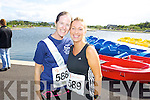 Claire Leahy and Nicola Sheehy pictured at the Rose of Tralee International 10k Race in Tralee on Sunday.