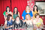 HAPPY BIRTHDAY: Dolores Counihan, Killerisk (seated 2nd left) who celebrated her birthday with family and friends in Cassidy's restaurant, Tralee on Saturday night last, seated l-r: Bernie, Dolores Counihan, Rita Dowling and Breda Counihan. Back l-r: Michelle O'Regan, Carmel Power, Debbie Guerin and Geraldine Crean.