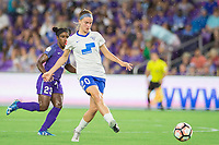 Orlando, FL - Saturday June 03, 2017: Christen Westphal during a regular season National Women's Soccer League (NWSL) match between the Orlando Pride and the Boston Breakers at Orlando City Stadium.