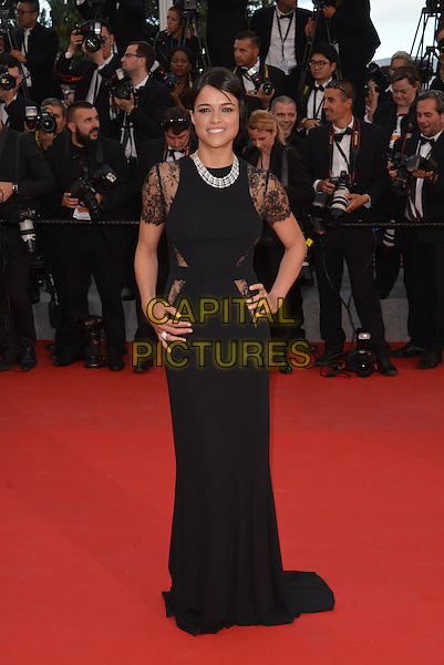 Michelle Rodriguez attend the Premiere of 'Irrational Man' during the 68th annual Cannes Film Festival on May 15, 2015 in Cannes, France.<br /> CAP/PL<br /> &copy;Phil Loftus/Capital Pictures