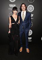SANTA MONICA, CA - JANUARY 06: (L-R) Singer/songwriter Arielle Paul and Dan Gross arrives at the The Art Of Elysium's 11th Annual Celebration - Heaven at Barker Hangar on January 6, 2018 in Santa Monica, California.<br /> CAP/ROT/TM<br /> &copy;TM/ROT/Capital Pictures