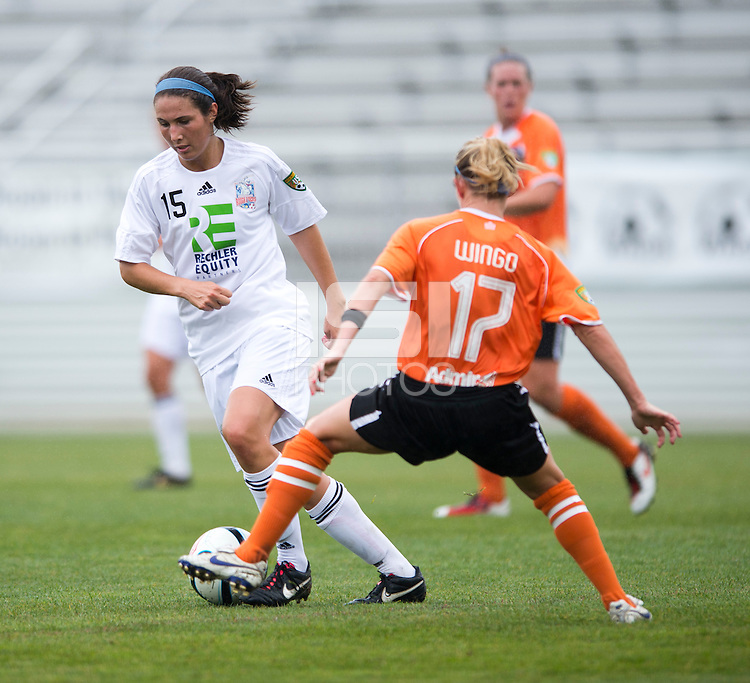 Macky Wingo, Gabby Charno.  The Charlotte Lady eagles defeated the Long Island Rough Riders, 4-0, to advance to the W-League Eastern Conference Championship.