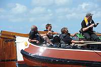 SKUTSJESILEN: WOUDSEND: 29-07-2013, SKS skûtsjesilen, Skûtsje van Woudsend, ©foto Martin de Jong