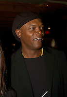 American actor Samuel L. Jackson attend a party thrown bu REMSTAR comapny during the 25th World Film Festival, August 25th, 20001 in Montreal , Canada.<br /> <br /> <br /> <br /> <br /> Photo by Pierre Roussel / Getty Images News Service (ON SPEC)<br /> <br /> <br /> <br /> NOTE : Nikon D-1 JPEG opened with QUIMAGE ICC profile , saved as Adobe RG 1998 color space.