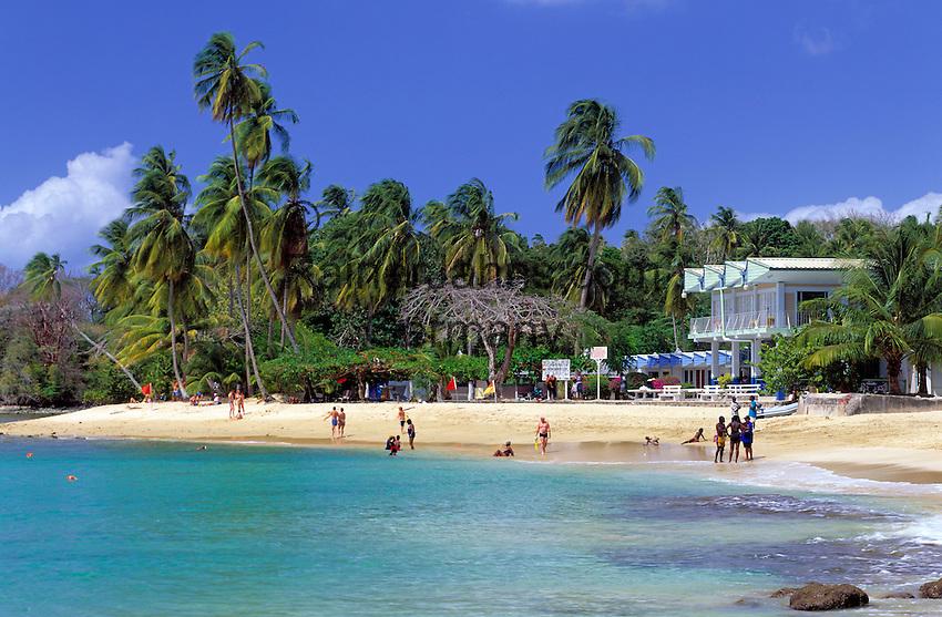 Trinidad & Tobago, Commonwealth, Tobago, Mt. Irvine Bay: beach