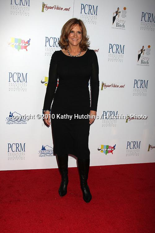 "Carol Leifer.arrives at ""The Art of Compasion PCRM 25th Anniversary Gala"".The Lot.Los Angeles, CA.April 10, 2010.©2010 Kathy Hutchins / Hutchins Photo..."