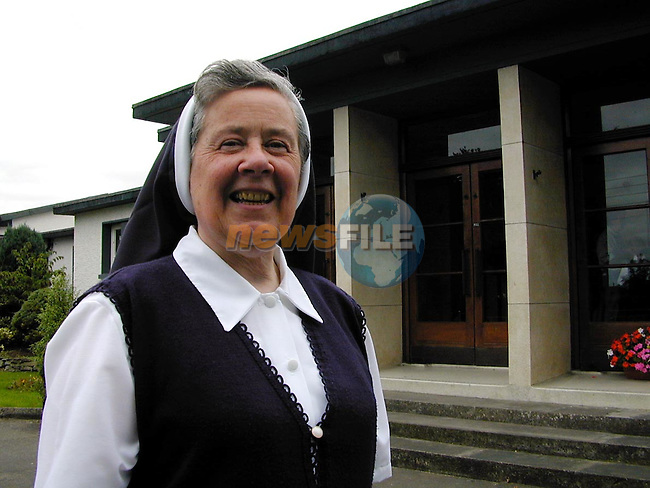 Sr. Annunciata on her retirement from Scoil Mhuire na Trocaire, Ardee..Picture Paul Mohan Newsfile
