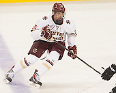 Zach Sanford (BC - 24) - The Boston College Eagles defeated the visiting University of New Brunswick Varsity Reds 6-4 in an exhibition game on Saturday, October 4, 2014, at Kelley Rink in Conte Forum in Chestnut Hill, Massachusetts.