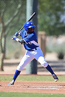 Kansas City Royals second baseman D.J. Burt (26) during an Instructional League game against the Cincinnati Reds on October 14, 2014 at Goodyear Training Facility in Goodyear, Arizona.  (Mike Janes/Four Seam Images)