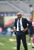 Calcio, Serie A: Inter Milano-Parma, Giuseppe Meazza stadium, September 15, 2018.<br /> Inter's coach Luciano Spalletti looks on during the Italian Serie A football match between Inter and Parma at Giuseppe Meazza (San Siro) stadium, September 15, 2018.<br /> UPDATE IMAGES PRESS/Isabella Bonotto