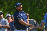 Shane Lowry (IRL) watches his tee shot on 2 during round 3 of the Houston Open, Golf Club of Houston, Houston, Texas. 3/31/2018.<br /> Picture: Golffile | Ken Murray<br /> <br /> <br /> All photo usage must carry mandatory copyright credit (&copy; Golffile | Ken Murray)