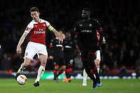 Laurent Koscielny of Arsenal in action during Arsenal vs Rennes, UEFA Europa League Football at the Emirates Stadium on 14th March 2019