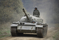 - NATO in Germany; U.S.Army, Foreign Materials Training Detachment (FMTD) at Grafenwoehr training area, T 55 Soviet tank (October 1985)<br /> <br /> - NATO in Germania; US Army, Distaccamento di Addestramento sugli Equipaggiamenti Esteri (FMTD) presso il poligono militare di Grafenwoer, carro armato sovietico T 55  (ottobre 1985)