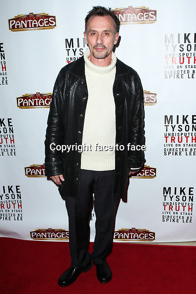 """Robert Knepper attending the """"Mike Tyson: Undisputed Truth"""" Los Angeles Opening Night held at The Pantages Theatre on March 8, 2013 in Hollywood, California. ..Credit: MediaPunch/face to face..- Germany, Austria, Switzerland, Eastern Europe, Australia, UK, USA, Taiwan, Singapore, China, Malaysia and Thailand rights only -"""