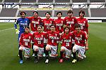 Urawa Reds Ladies Team Group Line-Up, APRIL 4, 2015 - Football /Soccer : Plenus Nadeshiko League 2015 between Urawa Reds Ladies 0-1 JEF United Ichihara Chiba Ladies  at Fukuda Denshi Arena, Chiba, Japan. (Photo by Sho Tamura/AFLO SPORT) [1180]