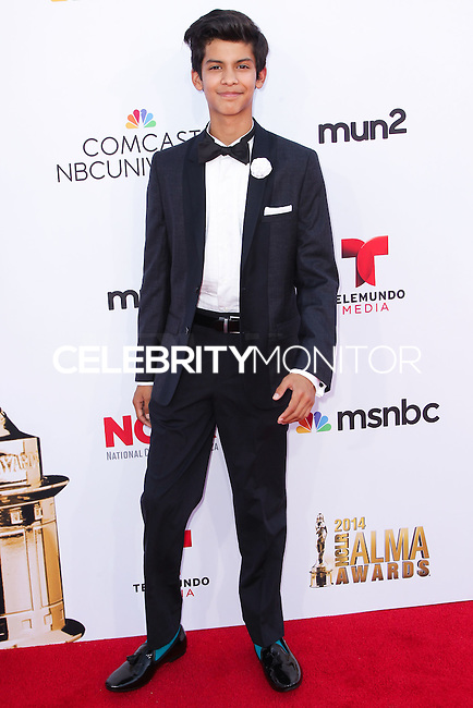 PASADENA, CA, USA - OCTOBER 10: Xolo Mariduena arrives at the 2014 NCLR ALMA Awards held at the Pasadena Civic Auditorium on October 10, 2014 in Pasadena, California, United States. (Photo by Celebrity Monitor)