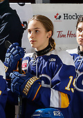 MORDEN, MB– Nov 6 2019: Game 8 - Team Manitoba v Team BC during the 2019 National Women's Under-18 Championship at the Access Event Centre in Morden, Manitoba, Canada. (Photo by Dennis Pajot/Hockey Canada Images)