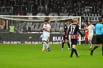 06.10.2019, Commerzbankarena, Frankfurt, GER, 1. FBL, Eintracht Frankfurt vs. SV Werder Bremen, <br /> <br /> DFL REGULATIONS PROHIBIT ANY USE OF PHOTOGRAPHS AS IMAGE SEQUENCES AND/OR QUASI-VIDEO.<br /> <br /> im Bild: Nuri Sahin (SV Werder Bremen #17) und Michael Lang (SV Werder Bremen #4)<br /> <br /> Foto © nordphoto / Fabisch
