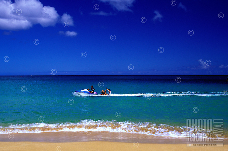 Jet ski, North Shore, Oahu