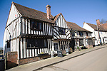 The Bell, Kersey, Suffolk, England