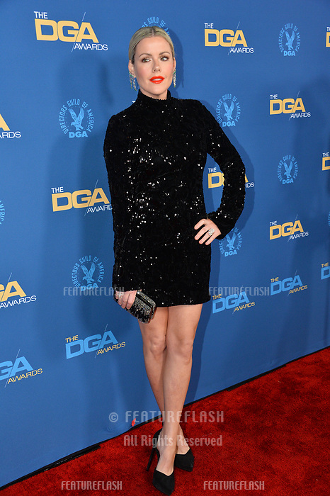 LOS ANGELES, CA. February 02, 2019: Kathleen Robertson at the 71st Annual Directors Guild of America Awards at the Ray Dolby Ballroom.<br /> Picture: Paul Smith/Featureflash