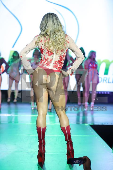 CIDADE DO MÉXICO, MÉXICO, 30.09.2019 - MISS-BUMBUM - Leia Lee durante a final do concurso Miss Bumbum World na  ForoTotal Play na Cidade do México na capital mexicana nesta segunda-feira, 30.  (Foto: William Volcov/Brazil Photo Press)