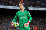 League Santander 2017/2018. Game: 28.<br /> FC Barcelona vs At. Madrid: 1-0.<br /> Marc-Andre ter Stegen.