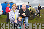 Liz, Jamie and Mike Flynn from Athea enjoying the Motorcross Grasstrack Championship held in Templeglantine last Sunday afternoon.