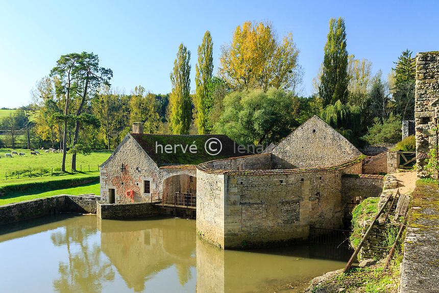 France, Yonne(89), Buffon, les forges de Buffon // France, Yonne, Buffon, Buffon forges