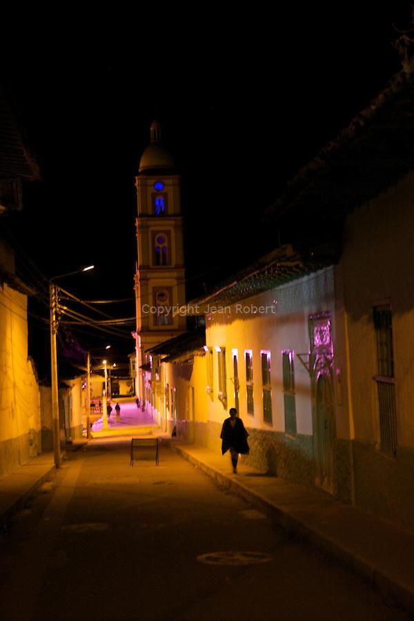 .Village d'el cocuy..Sierra del Cocuy