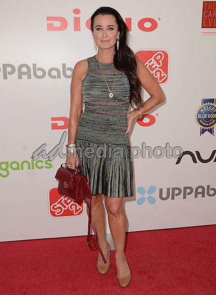 19 September  2015 - Los Angeles, California - Kyle Richards. Arrivals for Favored.by presents the 4th Annual Red Carpet Safety Awareness Event held at Skirball Cultural Center. Photo Credit: Birdie Thompson/AdMedia