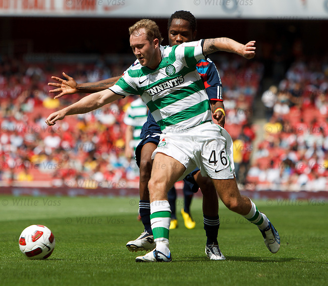 Aiden McGeady and Jean Makoun