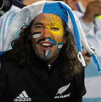 Rugby World Cup Auckland  New Zealand v Argentina Quarter Final 4 - 09/10/2011.Rugby fan  before the match.Photo Frey Fotosports International/AMN Images .