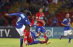 Los Azules ganaban 1-0, el conjunto visitante dio vuelta el marcador con tantos de Mauricio Mina y Omar Rodríguez