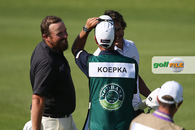 Shane Lowry (IRL) rallied five times over to finally break 72 (-1) during Round Three of the 2014 Nedbank Golf Challenge at the Gary Player Country Club, Sun City Resort, South Africa. Picture:  David Lloyd / www.golffile.ie