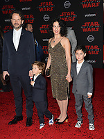 Ram Bergman &amp; Family at the world premiere for &quot;Star Wars: The Last Jedi&quot; at the Shrine Auditorium. Los Angeles, USA 09 December  2017<br /> Picture: Paul Smith/Featureflash/SilverHub 0208 004 5359 sales@silverhubmedia.com