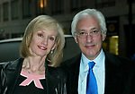 Steven Bochco and wife at the 2003 ABC Network Upfront Announcement and Party at Cipriani, New York City..May 13, 2003.