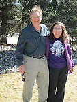 John Kieffer and Beth Crespo departing on their March 2014 Ski Adventure, Europe.