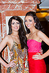 Niomi Brosnan Killarney and Sarah Jane Taylor Killarney at the Miss Kerry selection in the Plaza Hotel Killarney on Saturday night
