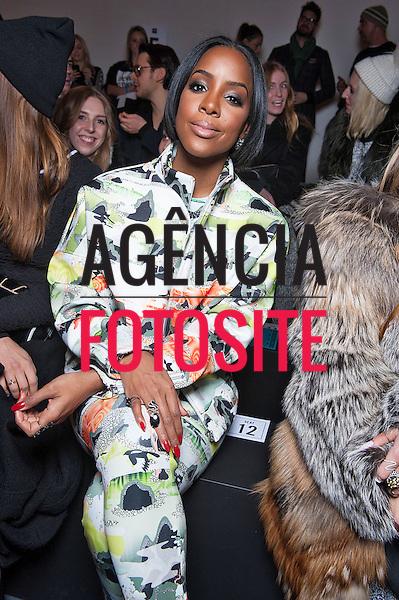 Nova Iorque, EUA &ndash; 02/2014 - Desfile de Opening Ceremony durante a Semana de moda de Nova Iorque - Inverno 2014. <br /> Foto: FOTOSITE