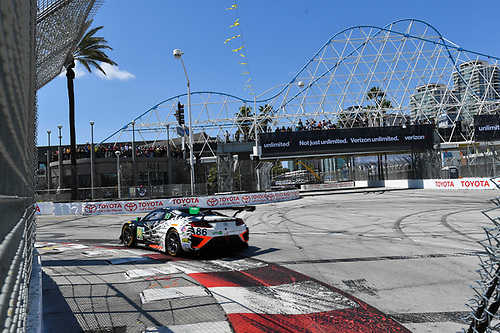 2017 IMSA WeatherTech SportsCar Championship<br /> BUBBA burger Sports Car Grand Prix at Long Beach<br /> Streets of Long Beach, CA USA<br /> Saturday 8 April 2017<br /> 86, Acura, Acura NSX, GTD, Oswaldo Negri Jr., Jeff Segal<br /> World Copyright: Richard Dole/LAT Images<br /> ref: Digital Image RD_LB17_320