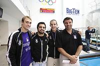 Men's 2008  Big Ten Swimming & Diving Championships held at the University of Michigan. Swimming Finals 03-01-08 ..