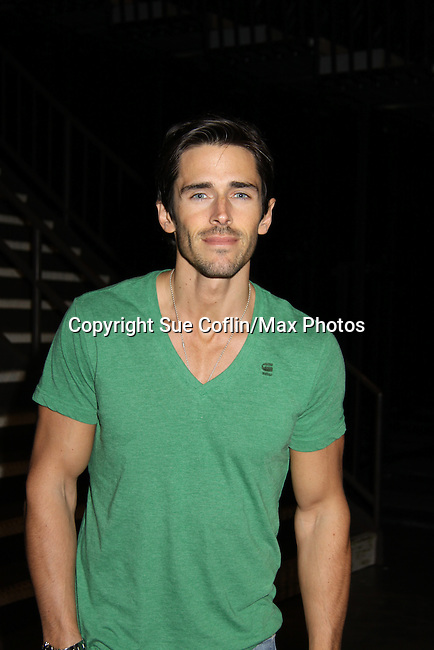 The Bold and the Beautiful - Brandon Beemer at the Soapstar Spectacular starring actors from OLTL, Y&R, B&B and ex ATWT & GL on November 20, 2010 at the Myrtle Beach Convention Center, Myrtle Beach, South Carolina. (Photo by Sue Coflin/Max Photos)