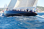 "Velsheda during""Les Voiles de Saint Tropez"", France.."