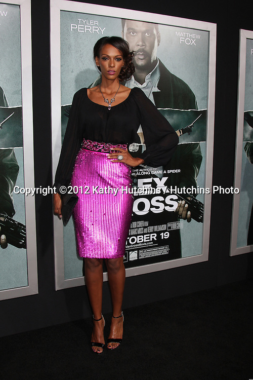 """LOS ANGELES - OCT 15:  Judi Shekoni arrives at the """"Alex Cross"""" Premiere at ArcLight Cinemas Cinerama Dome on October 15, 2012 in Los Angeles, CA"""