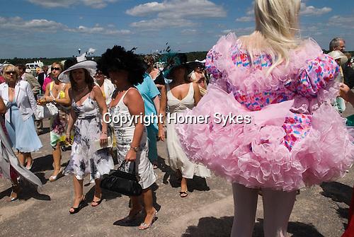 Horse racing at Royal Ascot, Berkshire, England. 2006.