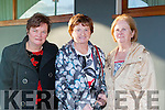 Margaret O'Connor, Sheila Dowd and Mary O'Mahony at the All Star Radio Kerry 25th anniversary concert in the INEC on Wednesday evening