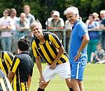 Nederland, Papendal, 1 juli 2012.Seizoen 2012-2013.Eerste training Vitesse .Fred Rutten (l.), de nieuwe trainer-coach van Vitesse en Tomas Kalas (2e van l.) van Vitesse