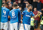 Daniel Candeias celebrates the winning goal to the fans